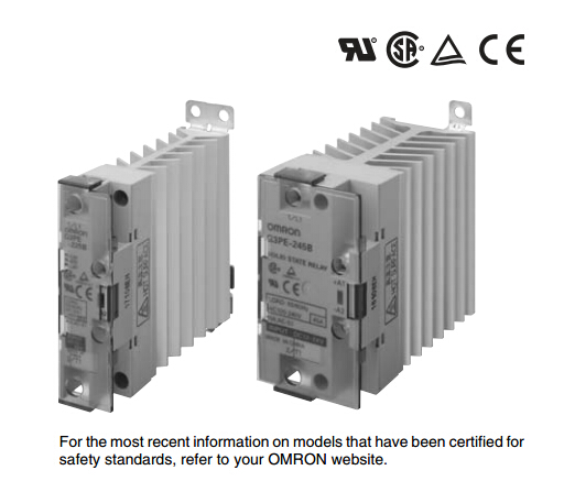 OMRON Solid State Relay G3PE-225B DC12-24
