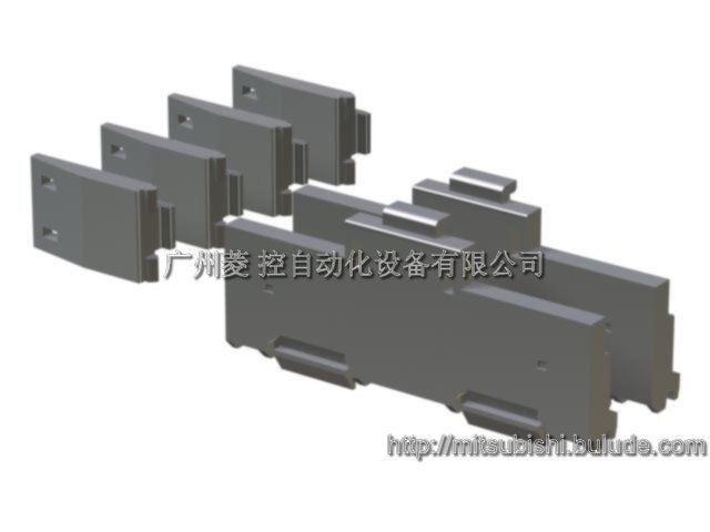 Mitsubishi DIN rail mounting adapter Q6DIN1A
