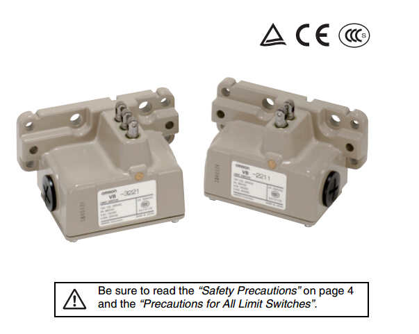 OMRON Limit Switches VB-4111