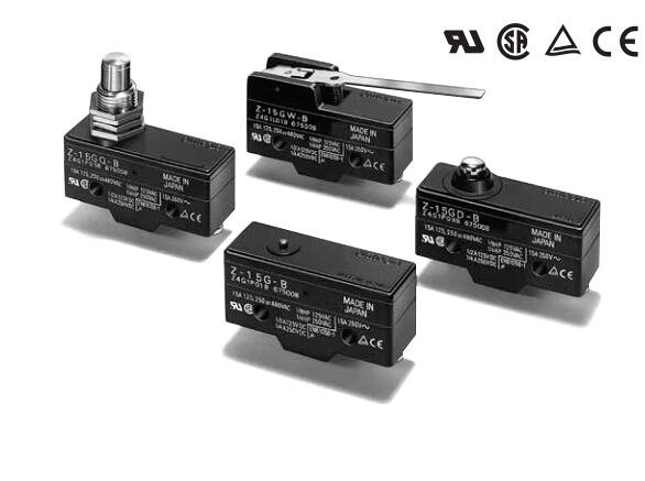 OMRON Basic Switches Z-15G55
